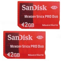 SanDisk SDMSG-2048 2GB MS PRO Duo Gaming Card (Pack of 2)