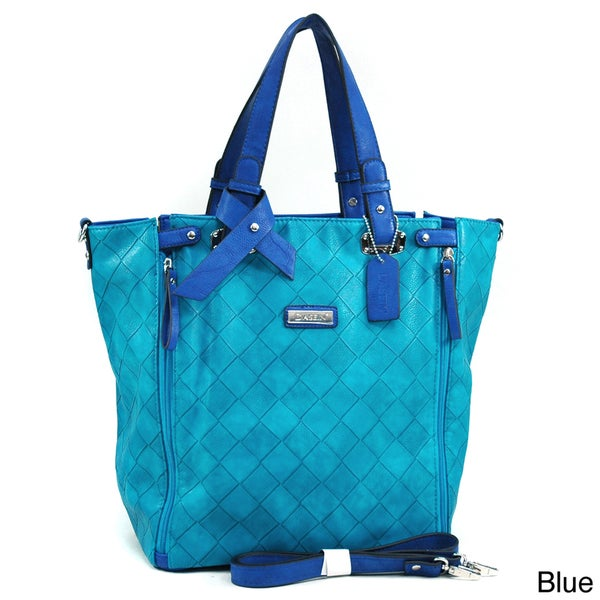 Dasein Large Weave Textured Tote