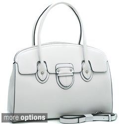 Dasein Solid Top-handle Structured Satchel