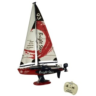 Golden Bright Sea Lite Red Full Function Radio Controlled Sailboat