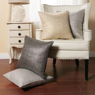 Metallic Weave 18-inch Decorative Pillows (Set of 2) https://ak1.ostkcdn.com/images/products/8101838/P15451923.jpg?impolicy=medium