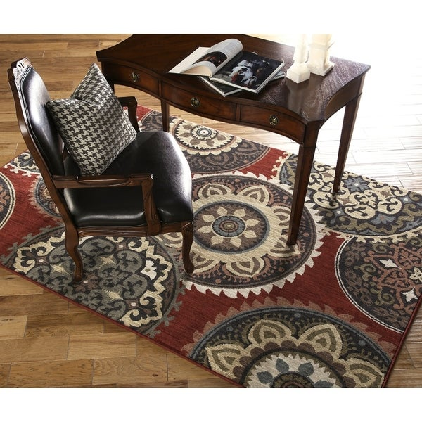 "Mohawk Home Dryden Summit View Ashen Rug (9'6 x 12'11) - 9'6"" x 12'11"""