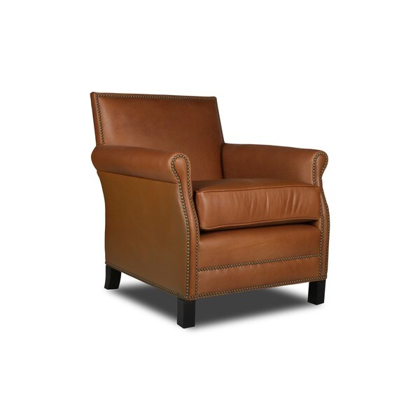 Gentil Pasadena Italian Leather Chair