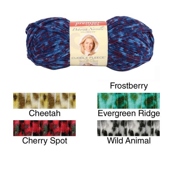 Deborah Norville Cuddle Fleece Prints Yarn