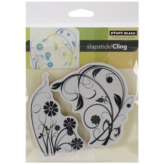 """Penny Black Cling Stamps 5""""X7.5"""" Sheet-Longing"""
