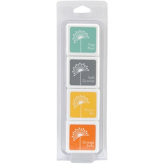 Hero Arts Shadow Inks 4 Color Cubes-Summer Splash