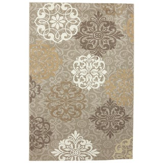 American Rug Craftsmen Madison Open Vista Dark Beige Rug (8' x 11')