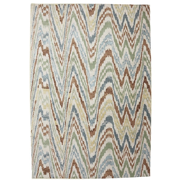 American rug craftsmen serenity painted desert butter for Home decor 80121