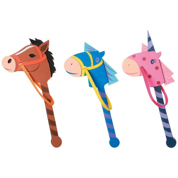 Assorted Foam Horse on a Stick
