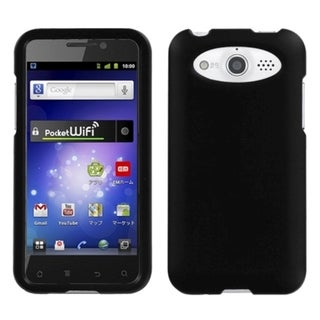 INSTEN Black Rubberized Phone Case Cover for Huawei M886 Mercury