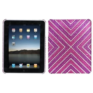 INSTEN Cautions Diamante Tablet Case Cover for Apple iPad