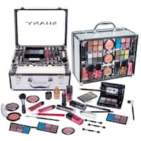 SHANY Carry-all Trunk Eye Shadow Palette/ Blushes/ Powder and More Makeup Set