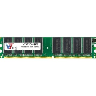 V7 1GB DDR 400MHz PC-3200 DIMM Desktop Memory