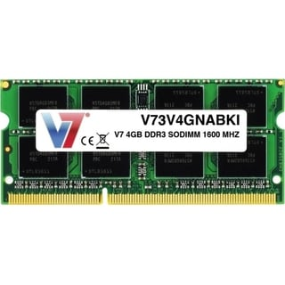V7 4GB DDR3 1600MHz PC3-12800 SO-DIMM Notebook Memory