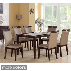 Shop Rosi Bicast Leather Dining Chairs Set Of 6