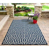 "Momeni Baja Retro Indoor/Outdoor Area Rug - 5'3"" x 7'6"""