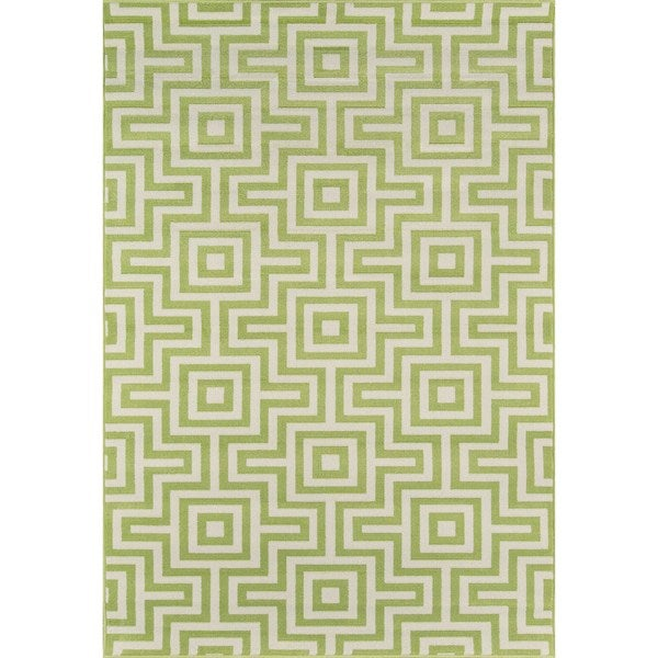 "Momeni Baja Retro Indoor/Outdoor Area Rug - 6'7"" x 9'6"""