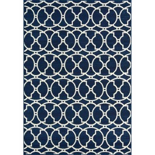 Indoor/ Outdoor Morrocan Navy Rug (2'3 x 4'6)|https://ak1.ostkcdn.com/images/products/8104246/P15453917.jpg?impolicy=medium