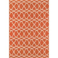 "Momeni Baja Moroccan Tile Orange Indoor/Outdoor Area Rug - 8'6"" x 13'"