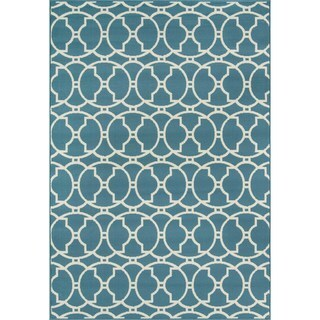 Moroccan Tile Blue Indoor/ Outdoor Rug (5'3 x 7'6)|https://ak1.ostkcdn.com/images/products/8104271/P15453934.jpg?_ostk_perf_=percv&impolicy=medium