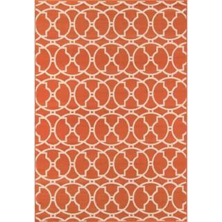 Moroccan Tile Orange Indoor/ Outdoor Rug (5'3 x 7'6)|https://ak1.ostkcdn.com/images/products/8104291/P15453942.jpg?impolicy=medium