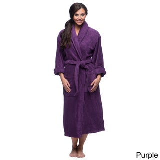 Salbakos Ultra-Thick Turkish Cotton Shawl Collar Unisex Bath Robe (3 options available)