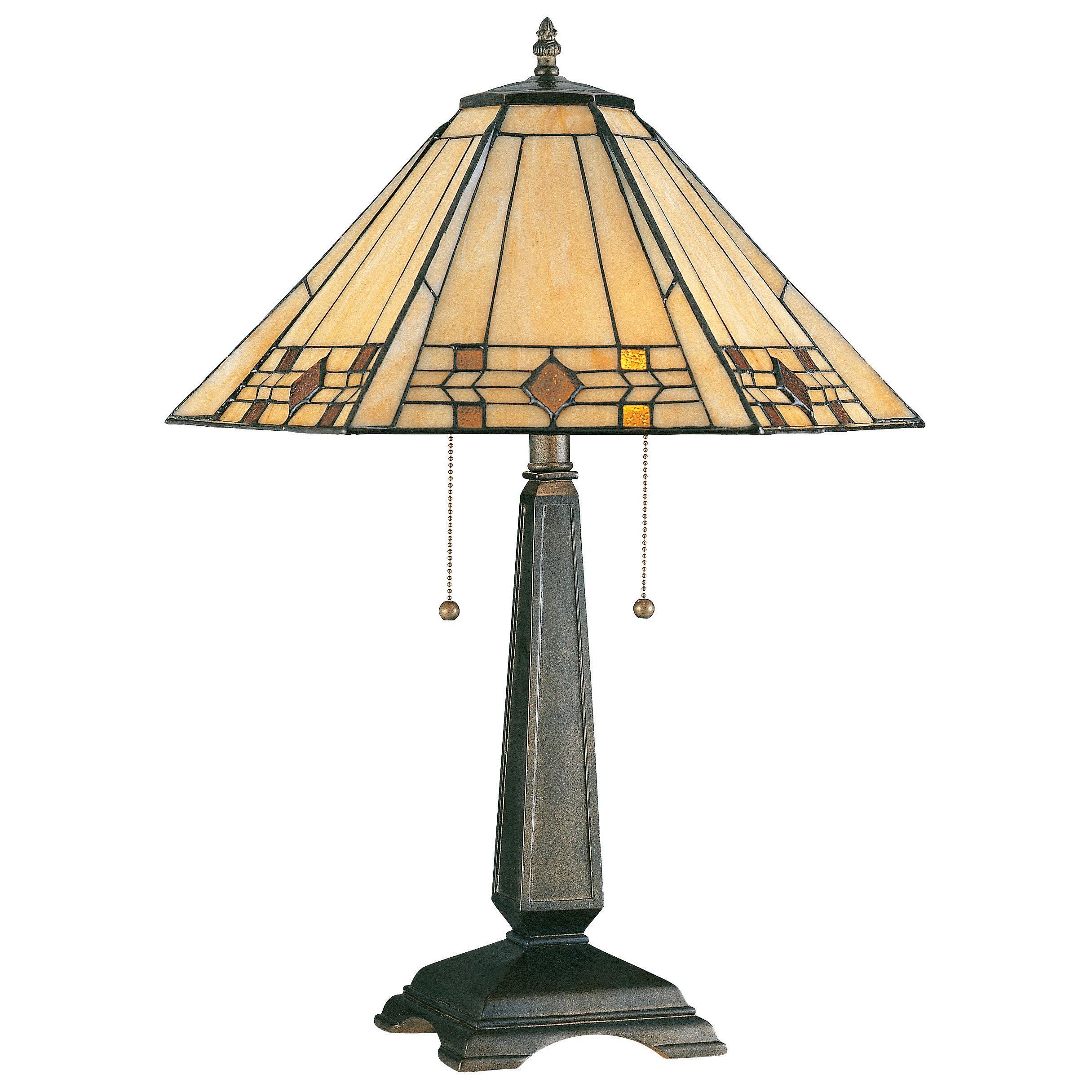 Design Craft Barrett Bronze Table Lamp (Bronze Finish) (A...