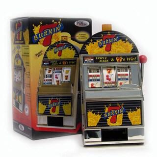 Burning 7's Slot Machine Bank / Spinning Reels