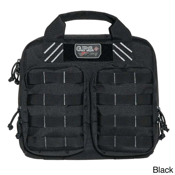 G.P.S. Tactical Double Plus 2 Pistol Case