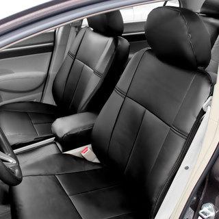 FH Group Custom Fit Black Leatherette 2006-2011 Honda Civic Seat Covers (Front Set)