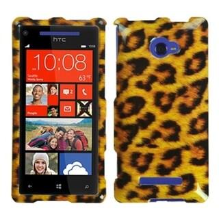 INSTEN Leopard Skin Phone Case Cover for HTC Windows Phone 8X