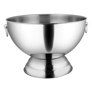 FortheChef 3.5 Gallon Stainless Steel Punch Bowl