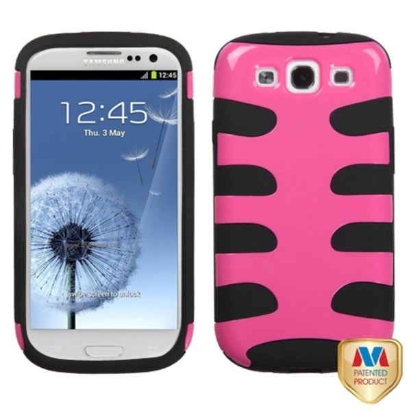 INSTEN Natural Blush Fishbone Phone Case Cover for Samsung Galaxy S3/ S III i9300