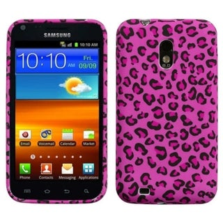 INSTEN Pink Leopard Phone Case Cover for Samsung Epic 4G Touch/ Galaxy S II R760
