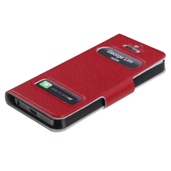 BasAcc Red MyJacket Wallet Case for Apple iPhone 5