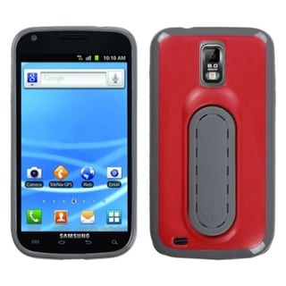 INSTEN Red Snap Tail Stand Phone Case Cover for Samsung T989 Galaxy S II/ S2