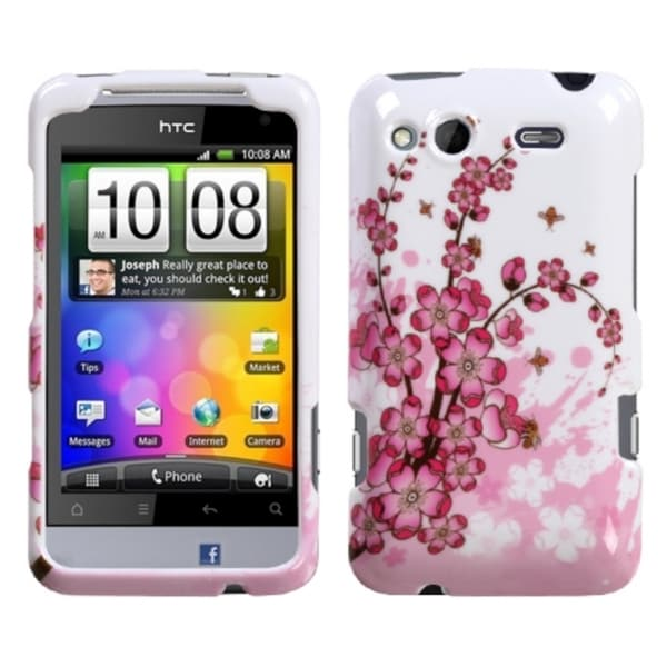 INSTEN Spring Flowers Phone Case Cover for HTC Salsa