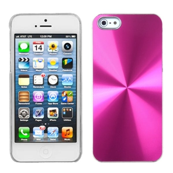 INSTEN Hot Pink Cosmo Back Protector Phone Case for Apple iPhone 5/ 5S/ 5C/ SE