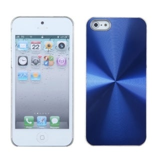 INSTEN Blue Cosmo Back Protector Phone Case for Apple iPhone 5/ 5S/ SE