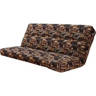 somette outdoor lodge full size futon cover siscovers microfiber camouflage futon cover   free shipping today      rh   overstock