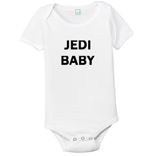 Jedi Baby Cotton Bodysuit