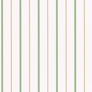 Brewster Home Fashions Green Stripes Wallpaper