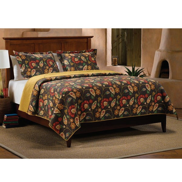 Greenland Home Fashions Moraga 3-piece Quilt Set