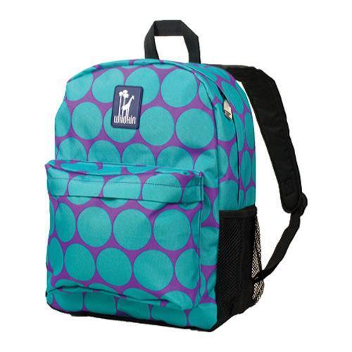 Wildkin Big Dot Aqua 16 Inch Backpack