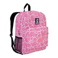 Wildkin Pink Giraffe Crackerjack Backpack