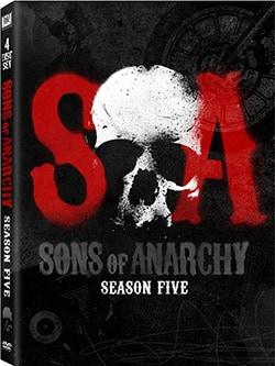 Sons of Anarchy: Season 5 (DVD)