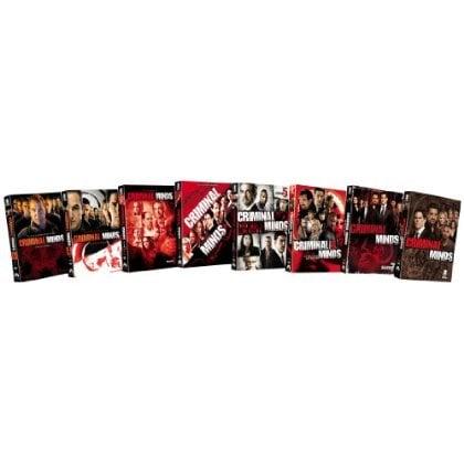 Criminal Minds: Eight Season Pack (DVD)