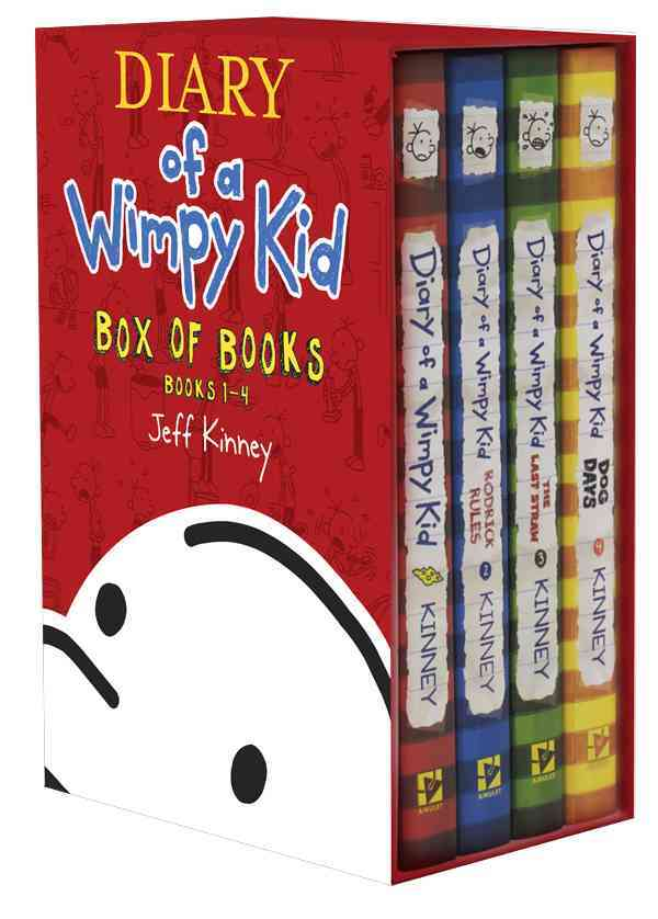 Diary of a Wimpy Kid Box of Books 1-4 (Hardcover)