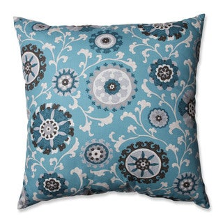 Pillow Perfect Suzani Teal 24.5-inch Floor Pillow