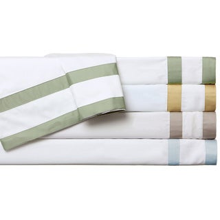 Egyptian Cotton Sateen 520 Thread Count Double Banded Sheet Set